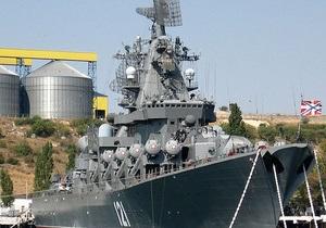 Российские боевые корабли возвращаются из сектора Газы в Черное море