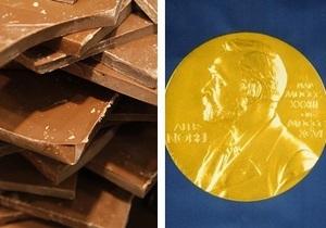 Ученые выявили связь между потреблением шоколада в стране и количеством Нобелевских лауреатов