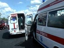 Один из руководителей милиции Луцка совершил ДТП: жертва в реанимации