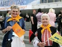 В Ивано-Франковске прошла акция Зачем Украине НАТО?