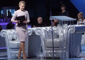 Сегодня вечером Тимошенко пойдет к Шустеру