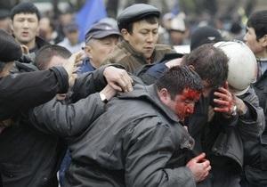 Фотогалерея:  Бишкек в огне. Кровавые беспорядки в Кыргызстане