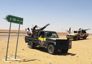 Официальный представитель Каддафи был схвачен при попытке покинуть Сирт