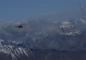 В Афганистане разбился транспортный самолет