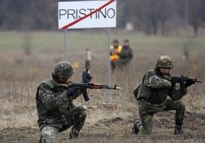 Суд арестовал украинского миротворца в Косово