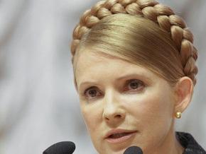 Тимошенко поручила обеспечить трансляцию Евровидения-2009 в Украине
