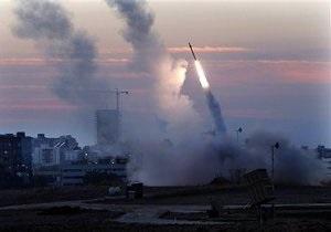 В Израиле взорвалась ракета, запущенная из Ливана