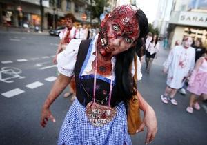 В США состоялся парад зомби