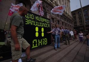 новости Киева - Киевсовет - выборы мэра Киева - УДАР - Киевсовет отказался обратиться в Раду по поводу выборов мэра