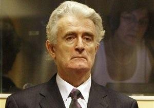 Радован Караджич надеется на прекращение процесса в Гааге