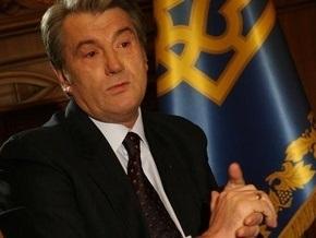 Ющенко: Убежден в развитии отношений между Украиной и Индией