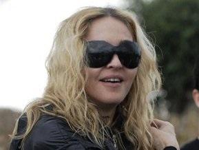 Мадонна упала с лошади