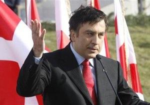 Саакашвили: Вступление Грузии в НАТО - вопрос времени
