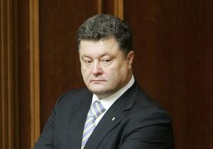 Хорошковский заявил, что не собирается конкурировать с Порошенко