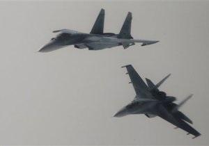 В России разбился истребитель Су-27