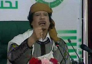 Сторонники Каддафи вышли на мирную демонстрацию в Триполи