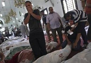Столкновения в Египте: В Каире полиция заняла мечеть, где находились тела жертв столкновений