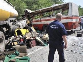 ГИБДД: У водителя автобуса, попавшего в ДТП под Ростовом, не было шансов избежать трагедии