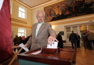 Явка избирателей на досрочных выборах была самой низкой в истории Латвии