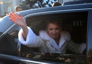 Тимошенко прибыла в Высший админсуд