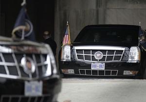 Обама разместит на президентских лимузинах номера с протестным лозунгом