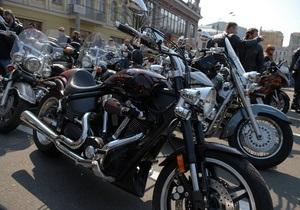 В Одессе стартовал парад байкеров Осенний рок-н-ролл