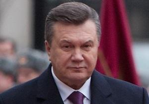 Янукович готов синхронно ратифицировать договор о ЗСТ с СНГ