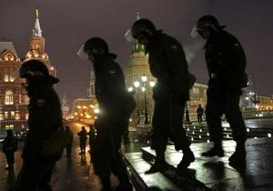 Число задержанных на Манежной площади превысило 100 человек