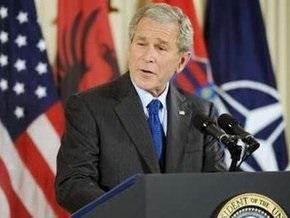 Буш: США поддерживают вступление Украины и Грузии в НАТО