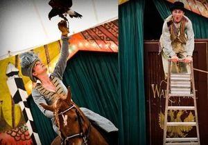 Британский цирк поставил спектакль по роману Война и мир