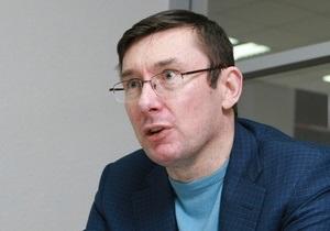 Луценко мечтает стать депутатом Европарламента от Украины