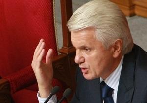 Литвин: Вопрос о выборах мэра Киева пока обсуждаться не будет