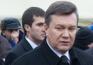 Янукович: Успешно развиваться могут лишь те государства, граждане и власть которых действуют сообща