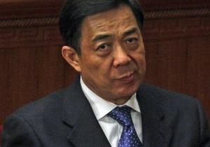 Китай: Бо Силаю предъявлены официальные обвинения