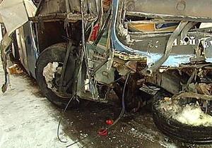 В России пассажирский автобус столкнулся с фурой