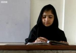 В Пакистане талибы расстреляли известную 14-летнюю правозащитницу, критиковавшую их в своем блоге