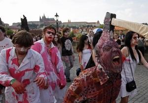 На съемках Обители зла-5 пострадали зомби