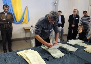 Оппозиция заявляет об избиении и похищении своего кандидата в Донецкой области