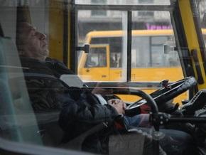 Киевские маршрутки будут контролировать с помощью GPS