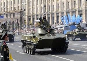 В Киеве и Севастополе прошли генеральные репетиции парада ко Дню Победы