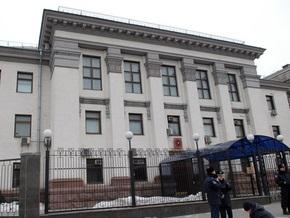 Посольство РФ в Украине выразило протест против  хулиганских антироссийских действий