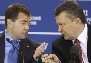 Медведев проведет с Януковичем в Крыму два дня