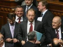 Яценюк на совете фракций: Мы потеряли очень много времени