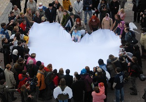 Фотогалерея: Открой свое сердце планете. День защиты климата в Киеве