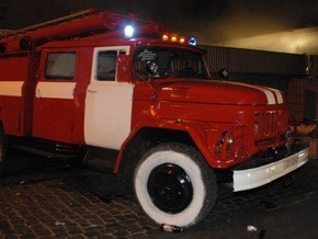 В здании Кировоградской областной госадминистрации произошел пожар
