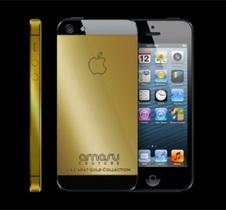 В Британии создали золотой iPhone 5