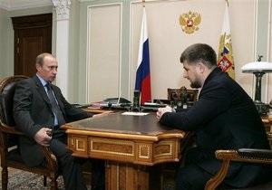 Кадыров: Хочу, чтобы Путин был президентом всю жизнь, я его очень люблю как мужчина мужчину