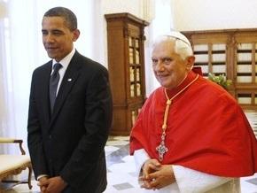 Обама пообещал Папе сделать все возможное, чтобы абортов в США стало меньше
