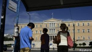 Министры финансов еврозоны опровергли возможность выхода Греции из валютного союза