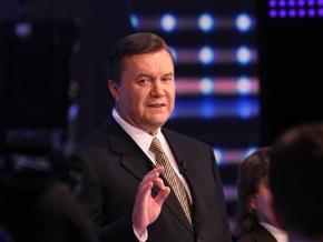 Янукович заявил, что на телеканал Интер осуществляется давление